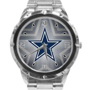NFL Dallas Cowboys Watch Stainless Steel Band